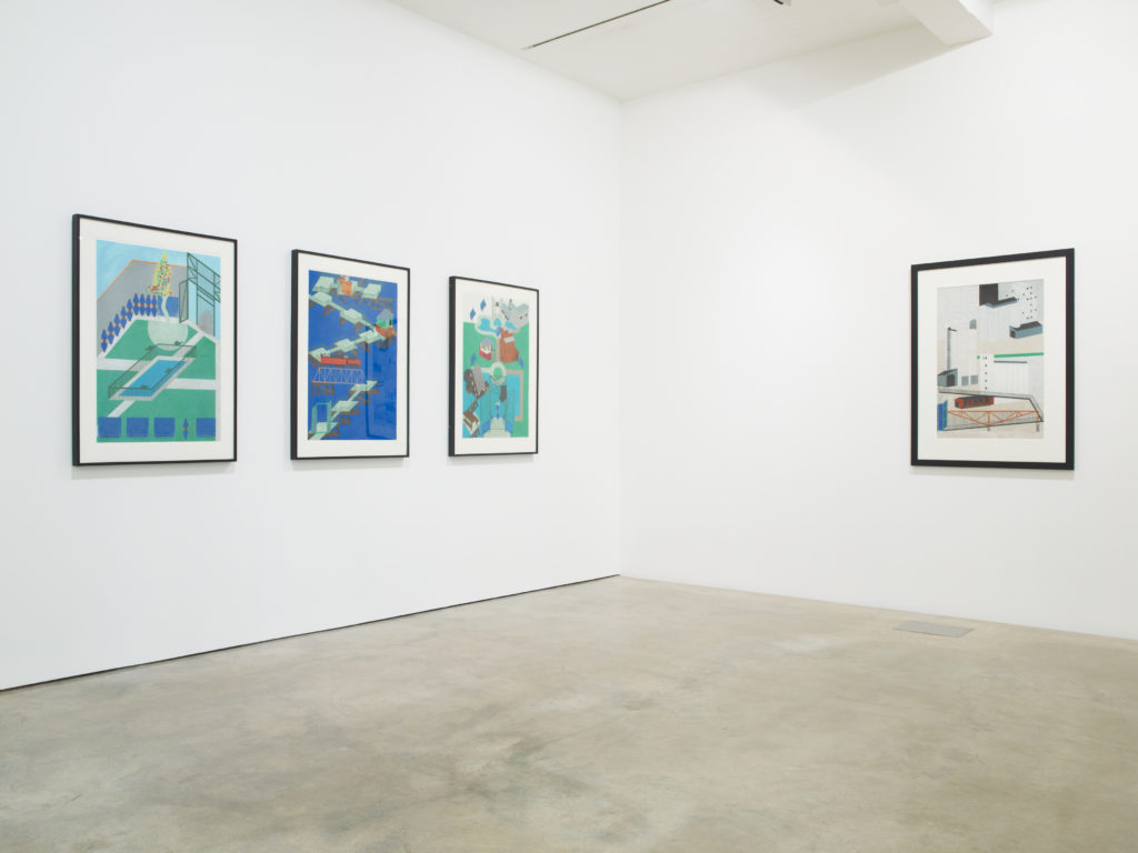 Siah Armajani: An Ingenious World, installation view at Parasol unit, London, 2013. Photography by Stephen White.
