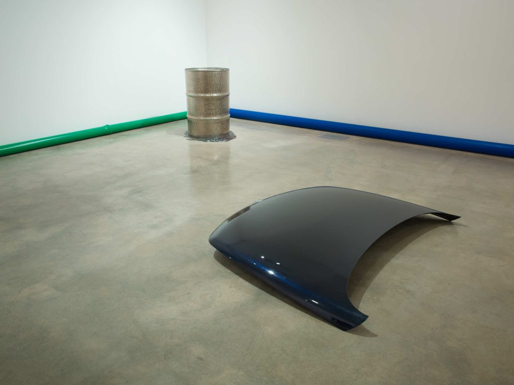 Jimmie Durham: Traces and Shiny Evidence, installation view at Parasol unit, London. Photography by Stephen White.