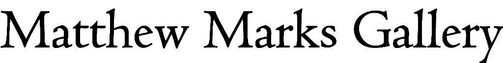 Matthew Marks Gallery - Logo