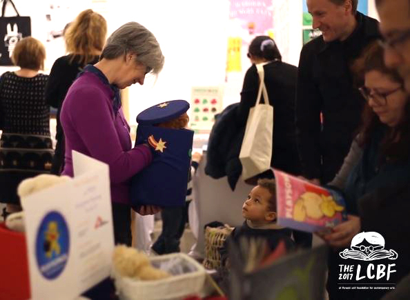 The London Children's Book Fair image from 2016.