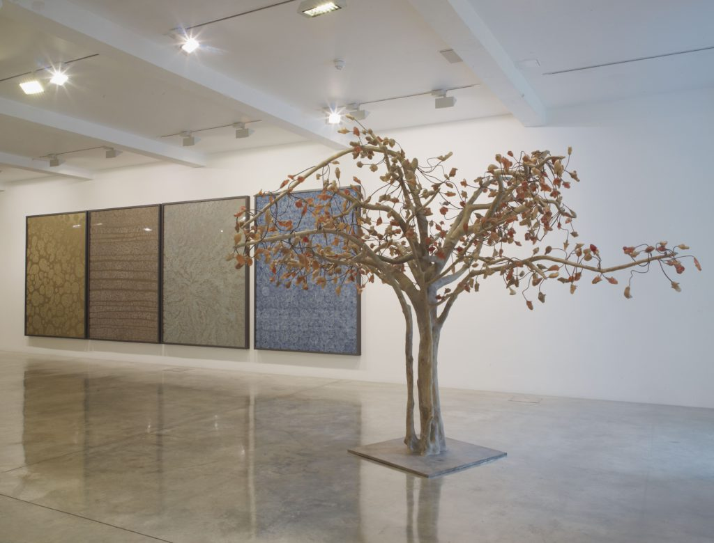 Bharti Kher, installation view at Parasol unit, London. Photography by Stephen White.