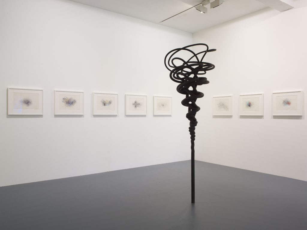 Lines of Thought, installation view at Parasol unit, London. Photo: Stephen White