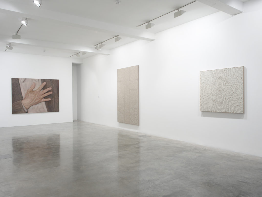 Y.Z. Kami: Endless Prayers, installation view at Parasol unit, London.