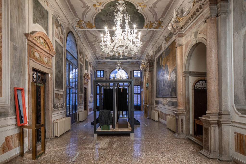 THE SPARK IS YOU: Parasol unit in Venice, installation view at Conservatorio di Musica Benedetto Marcello di Venezia, 2019. Courtesy the artist and Parasol unit. Photograph by Francesco Allegretto.