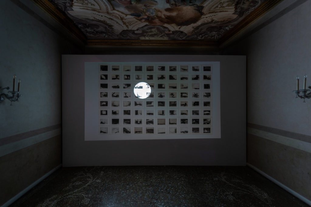 Farideh Lashai, When I Count, There Are Only You…But When I Look, There Is Only a Shadow, 2012–2013. THE SPARK IS YOU: Parasol unit in Venice, installation view at Conservatorio di Musica Benedetto Marcello di Venezia, 2019. Courtesy the artist and Parasol unit. Photograph by Francesco Allegretto.