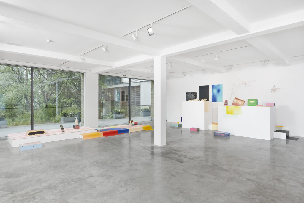 Nine Iranian Artists in London: THE SPARK IS YOU, installation view at Parasol unit, London. Photography by Benjamin Westoby. Courtesy of the artists and Parasol unit.