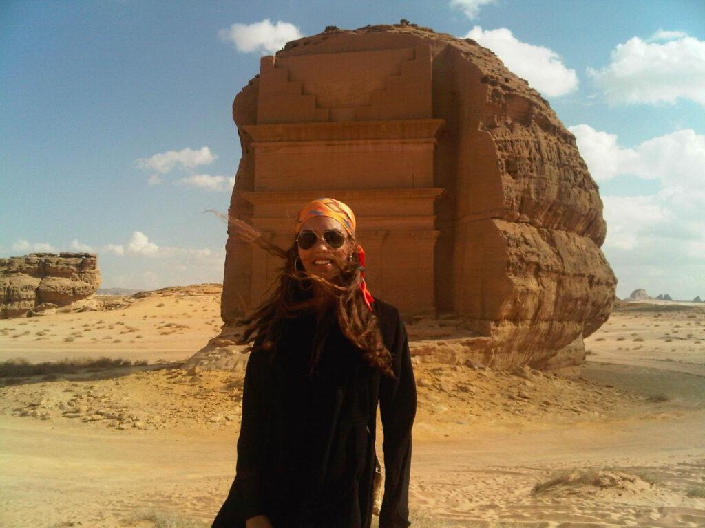 Alia Al-Senussi at Al Farid Al Ula 2010