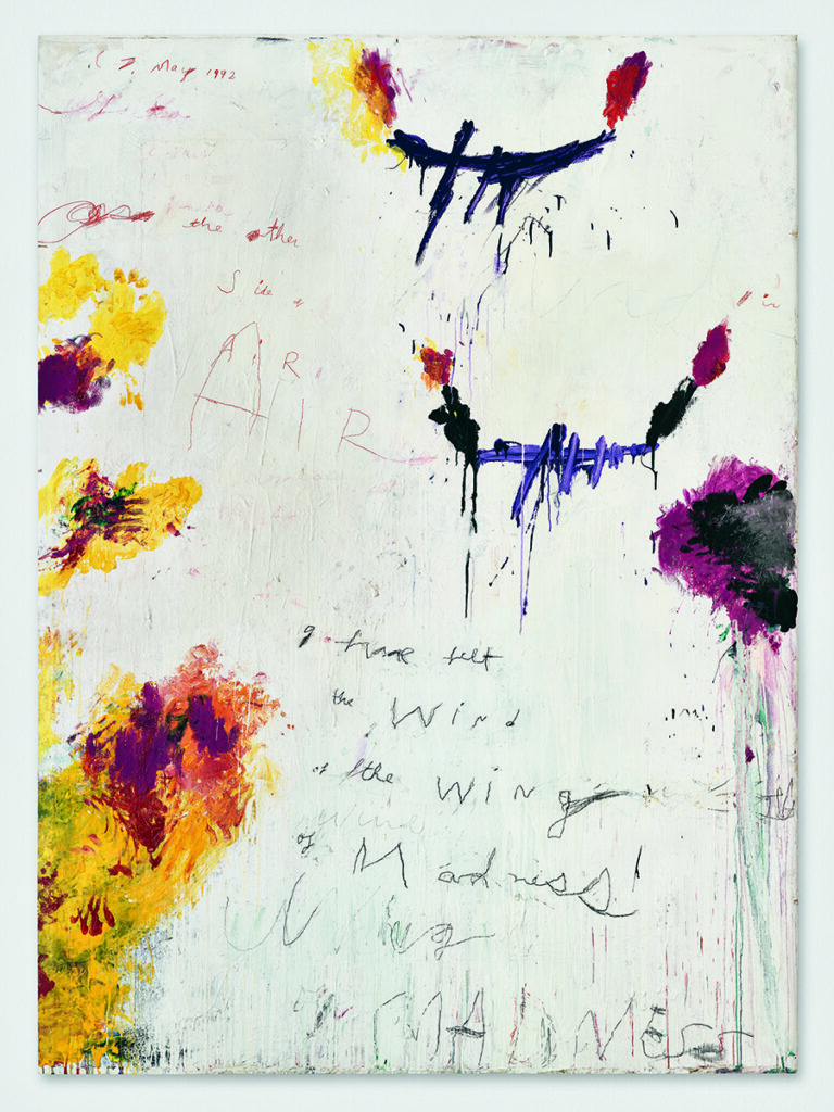 Untitled Cy Twombly painting